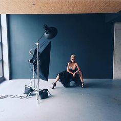 Famous BTS Magazine pick. @Tatyana Kurnosova working it at our Portfolio Building Day