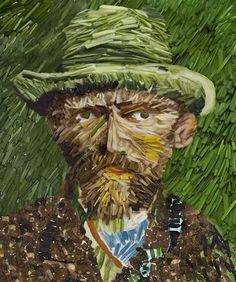 Van Gogh food art  http://pinterest.com/artexperienceny/food-art/
