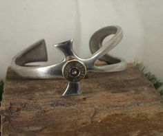 Bullet Bracelet   Pewter  with 38 SPL Bullet by ShellsNStuff, $29.99