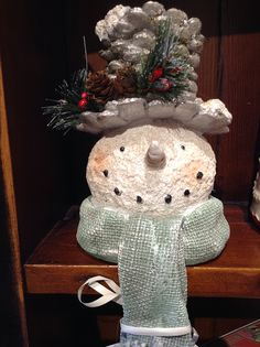 Do you love #snowmen? They make the best #Winter decor & we have several at Georgian #Christmas - Stop by today! | www.georgianchristmas.ca