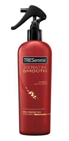 TRESemme Keratin Smooth Heat Protection Shine Spray: rated 5.0 out of 5 by MakeupAlley.com members.