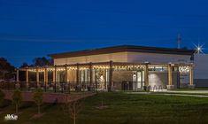 Outdoor Restaurant Lighting Design Omaha, Nebraska | McKay Landscape Lighting