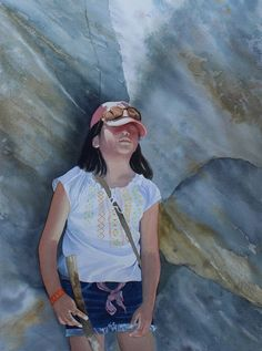 Watercolor portraits by Margaret Washington