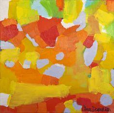 """""""Habanero"""" by Claire Desjardins, saatchionline.com #Painting #Habanero #Claire_Desjardins #Saatchionline"""
