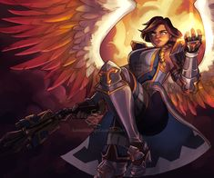 holy vengeance is swift on its wings (lumenizampel) : Paladins