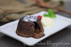 GoodyFoodies: Recipe: Chocolate fondant (lava) cakes (Gordon Ramsay)