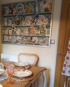 Decided not to wallpaper the whole wall. Saved some pennies = happy hubby  #emmabridgewater #emmabridgewateraddict