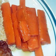 Buttery Brown sugar carrots