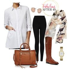 Best Long Tops To Wear With Leggings - Tunics to Wear with Leggings | Fabulous After 40