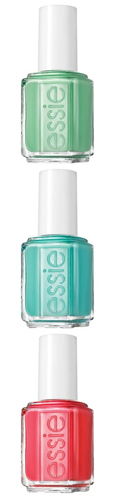 Mani time | Essie Resort Collection.
