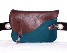 Waist bag / waist bag / fanny pack by byKGDesign on Etsy