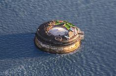 В Британии военно-морской форт XIX века превратили в роскошный неприступный отель - No Man's Land Fort.