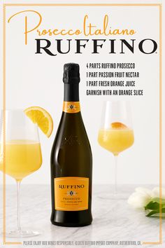 Bright, delightful and sparkling, this Passione Spritz cocktail recipe with Ruffino Prosecco is surprisingly simple. 4 parts Ruffino Prosecco 1 part passion fruit nectar 1 part fresh orange juice Orange slice keto food list for ketogenic diet Party Drinks, Cocktail Drinks, Fun Drinks, Cocktail Recipes, Alcoholic Drinks, Beverages, Spritz Cocktail, Healthy Dinner Recipes, Cooking Recipes