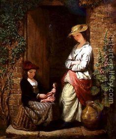 Playing with Dolly, Edward John Cobbett