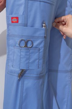 Pockets are a must! #Dickies #Scrubs #Nurses #pants