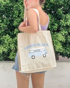 Paradise On Earth Tote
