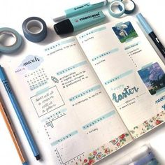 This is such an amazing idea for the bullet journal! Every year I get more organized and I love it! Can't wait to try this idea in my own planner! Easy Bullet Journal Ideas To Well Organize & Accelerate Your Ambitious Goals Bullet Journal Simple, Bullet Journal Ideas, Bullet Journal 2019, Bullet Journal Spread, Bullet Journal Layout, My Journal, Bullet Journal Inspiration, Journal Pages, Bullet Journals