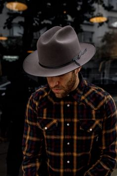 Stetson - Stetson Open Road, Short Brim Hat, Hipster Man, Groom Outfit, Outfits With Hats, Gentleman Style, Men Looks, Mens Clothing Styles, Hats For Men