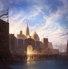 The Atlantis Plague - cover artwork by jcbarquet on deviantART