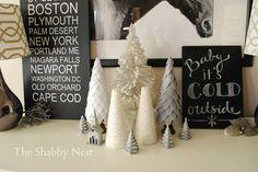 The Shabby Nest: Christmas House Tour~
