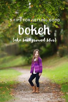 Photography Tips:  Learn how to get good bokeh (bokeh is those out of focus areas in your image) click through to read all the tips!