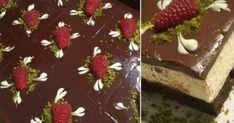 Η πάστα ταψιού που σας ξετρέλανε τώρα και σοκολατένια! Cookbook Recipes, Cake Recipes, Cooking Recipes, Healthy Recipes, Healthy Food, Greek Cake, Chocolate Deserts, Greek Sweets, Greek Recipes