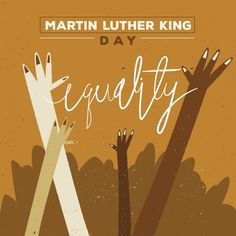 We are all equal and today is the day to celebrate the fight for this one basic truth. It's #MartinLutherKingDay Be a voice in your community email programdirector@societybytesradio.com