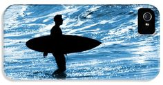 Surfer Silhouette iPhone 5 / 5S Case by Carlos Caetano