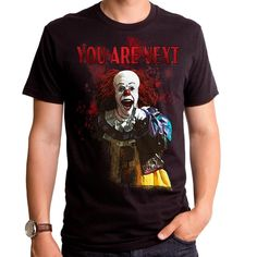 #Trendy Halloween - #Aliquantum/Goodie Two Sleeves It the Movie You Are Next Adult T-Shirt - AdoreWe.com