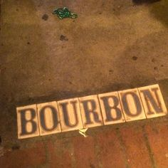 Saturday night & well into Sunday morning on #BourbonStreet #NewOrleans by rachel_r_hart