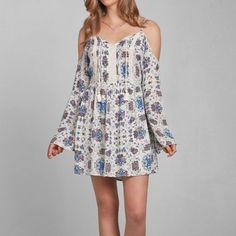 Womens Randi Peasant Dress