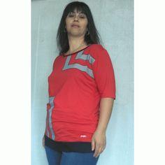 Макси блуза с къс ръкав Аврелия