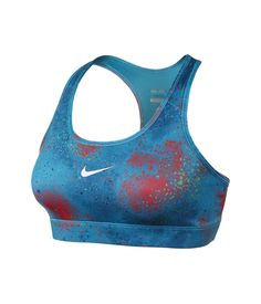Nike Pro Printed Sports Bra. #sportsbra