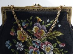 Vintage Martha Klein Creation Needlepoint by AnotherSkyVintageLLC