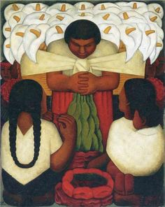 Diego Rivera, Flower Festival, 1925.