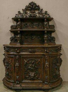 Wardrobe Cabinets Jacobean Vintage Shabby Chic Furniture Styles Solid Oak Dark
