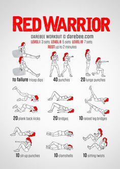 Red Warrior Workout