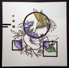 Claudia's Karteria: Ein Kolibri für Dich / A hummingbird for you