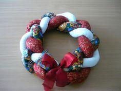 Le creazioni di Marina: Ghirlanda natalizia