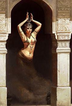#woman #smoke #shadow #praeternatural