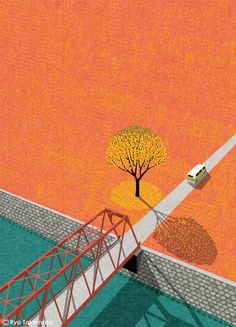 Cover illustration for Squet magazine, October 2015 issue.