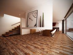 #Interceramic - Sunwood - HD Ceramic Floor Tile