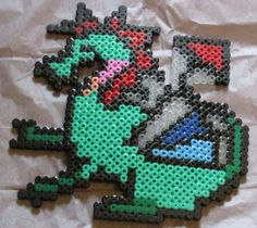 Dragon Hama Bead Pattern