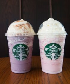 Two New Starbucks Frappuccinos   Starbucks is launching the last two Frappuccino flavors of summer today, August 27. #refinery29 http://www.refinery29.com/2015/08/92992/starbucks-two-new-frappuccino-flavors