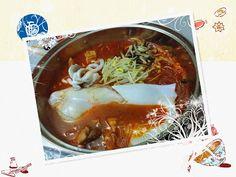 concon 煮意 blog: 韓式魷魚燉排骨湯 - 附食譜做法