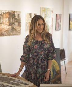Why are we so obsessed with Frances (SJP) wardrobe from the HBO show Divorce?  #style #sjp #series #wardrobes Photo Credit: HBO