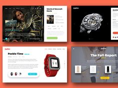 Ecommerce cards for landing pages