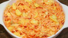 Vynikajúci mrkvový šalát podľa receptu z youtube, ktorý budete chcieť mať na stole každý deň! Je naozaj výborný, ľahký a osviežujúci. Potrebujete minimum prísad, minimum času a je to zároveň perfektná vitamínová bomba... Macaroni And Cheese, Cabbage, Vegetables, Ethnic Recipes, Food, Salads, Mac And Cheese, Essen, Cabbages