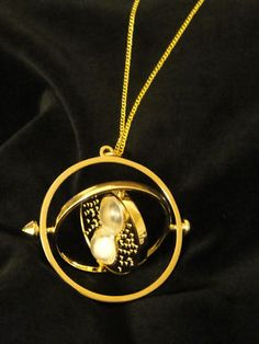 Time Turner Necklace- Harry Potter