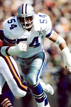 "The ""Manster"" missed just one game in his Cowboys career. White is the only defensive tackle to be named Super Bowl MVP. He played in three Super Bowls and was a nine-time Pro Bowler and nine-time All-Pro selection. Dallas Cowboys Football, Dallas Sports, Dallas Cowboys Images, But Football, Nfl Football Teams, Fifa, Super Bowl, How Bout Them Cowboys, Soccer"